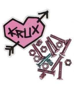 "KRUX KROME PINK BOLTS 1"""