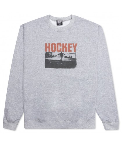 HOCKEY 'ALLENS INFERNO' CREWNECK ASH