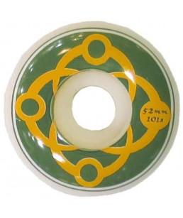 SATORI 'BIG LINK' WHEELS GREEN/ORANGE