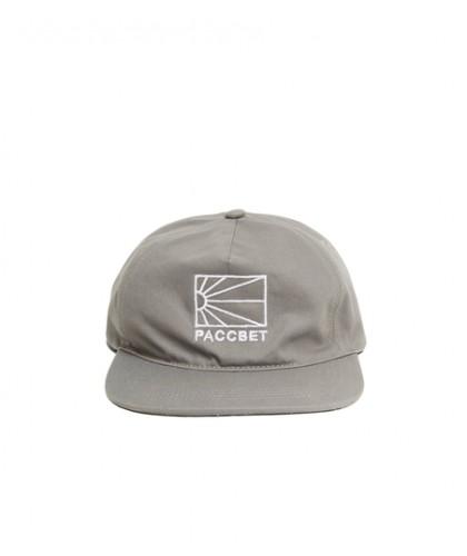 PACCBET MENS COTTON LOGO CAP WOVEN